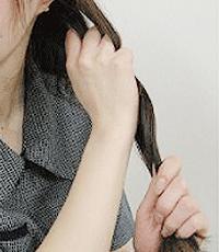 髪の毛のケアステップ2