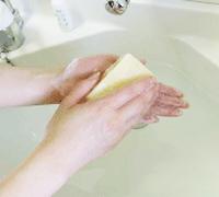 手洗いステップ4